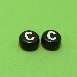 Písmenká čierne C