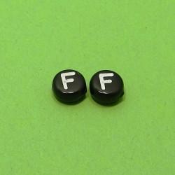 Písmenka čierne F