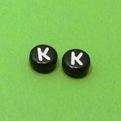 Písmenka čierne K