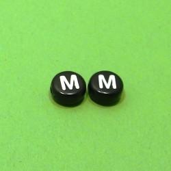 Písmenka čierne M