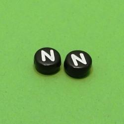 Písmenka čierne N