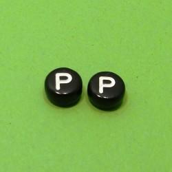 Písmenka čierne P