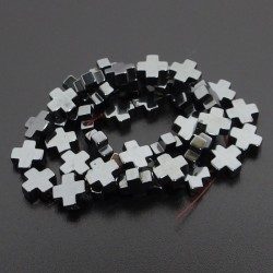 Hematit-kríž grécky čierné...