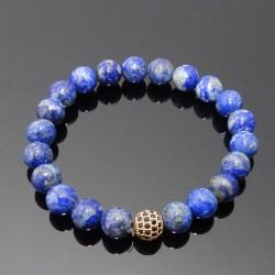 Náramok prírodný lapis lazuli