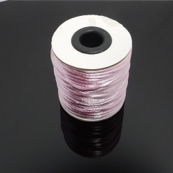 Saténová šnúrka 2mm ružová