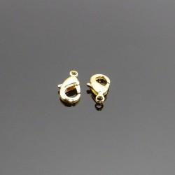 Karabinka zlatá 12mm