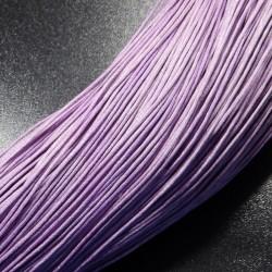 Povoskovaná šnúrka fialová