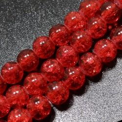 Praskačky 8mm červené