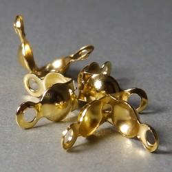 Kalota zlatá 7X4mm