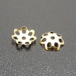 Kaplíky zlaté 6mm