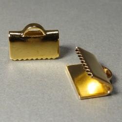 Koncovka na stuุžku zlaté 10mm